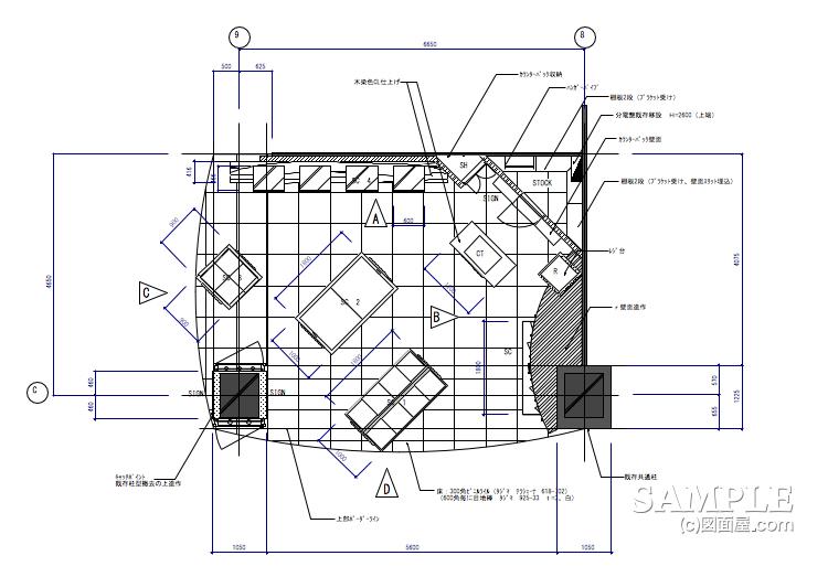 アクセサーリー001の平面図