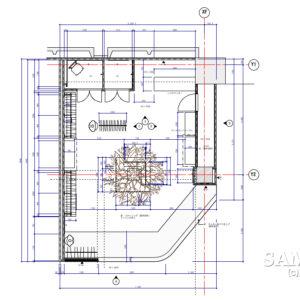 レディースカジュアルショップ001平面図