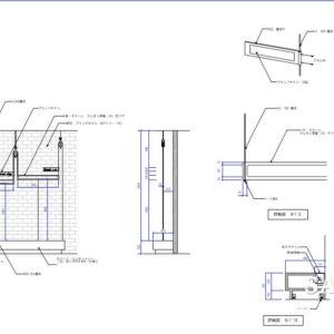 ビュッフェスタイルのダイニングカフェ_改装物件の平面事例