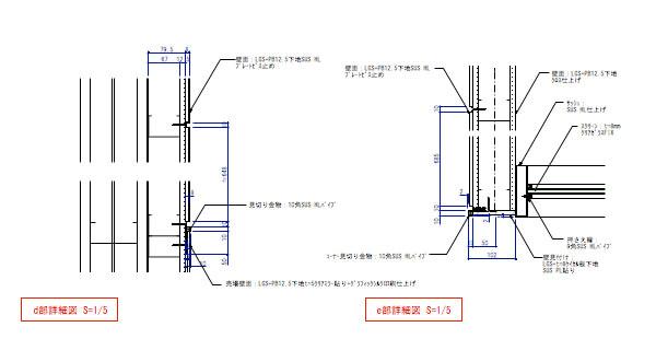 デパ地下のおしゃれなベーカリーショップの厨房詳細図2