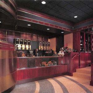 和食店 (蕎麦屋)ファサードエントランスの引き戸詳細図面