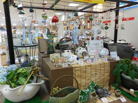 和食器売り場のルーバーイメージ2