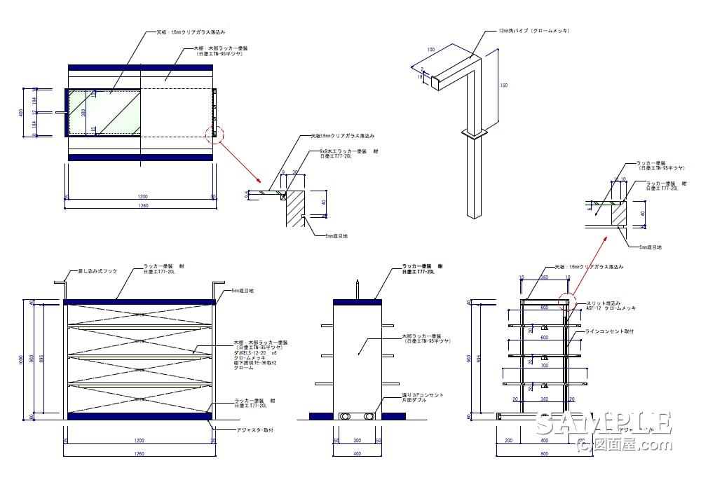 可動什器だけでコンパクトに構成したキッズショップの棚什器